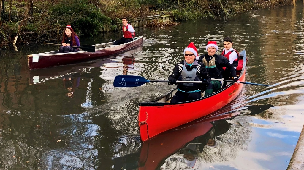 Solihull canoe club Christmas