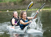 Sprint Racing with Solihull Canoe Club